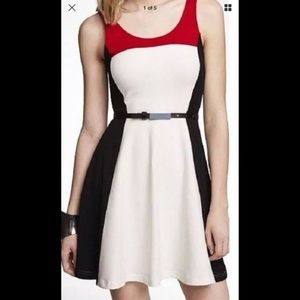 Small Express fit and flare dress